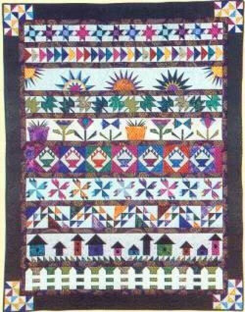row by row image from Pinterest free patterns
