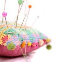 pincushion image